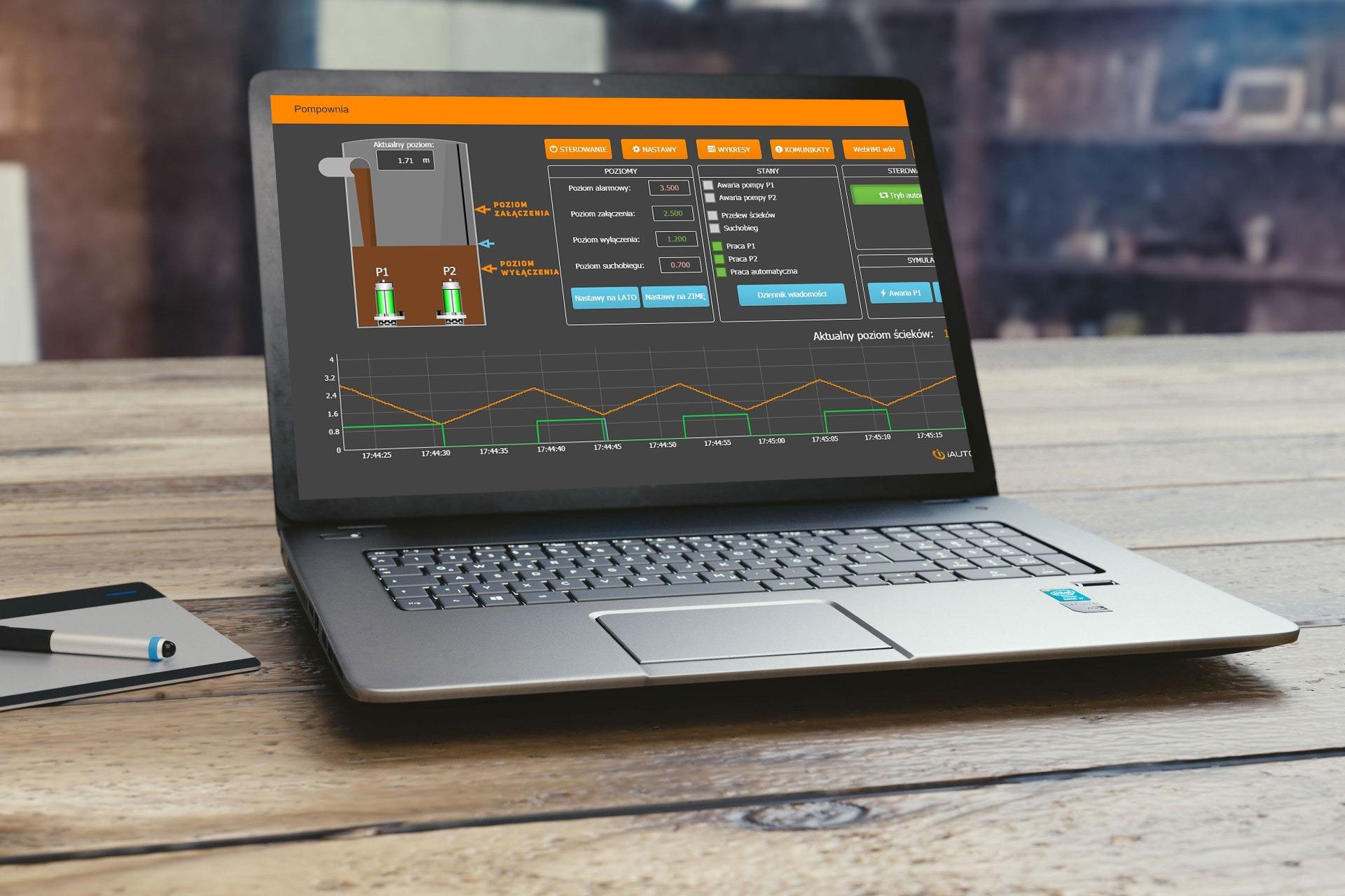 SCADA na Twojej przeglądarce – przetestuj demo WebHMI