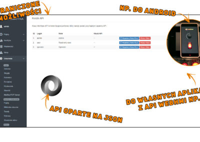 Dostęp przez API
