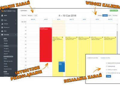 Planowanie zdarzeń w kalendarzu