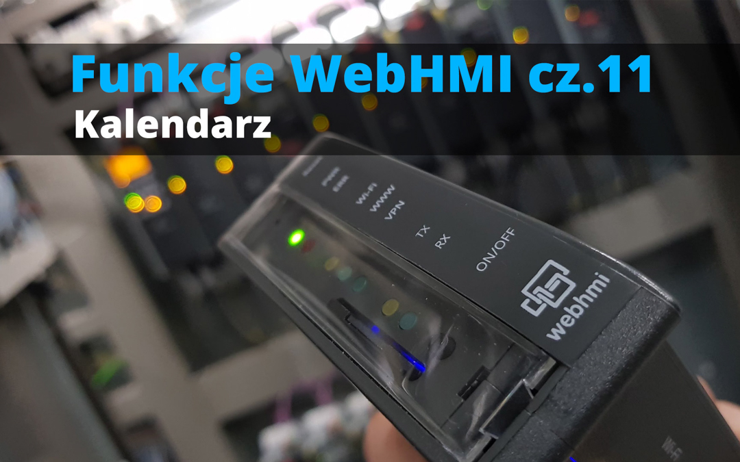 Funkcje WebHMI: Kalendarz