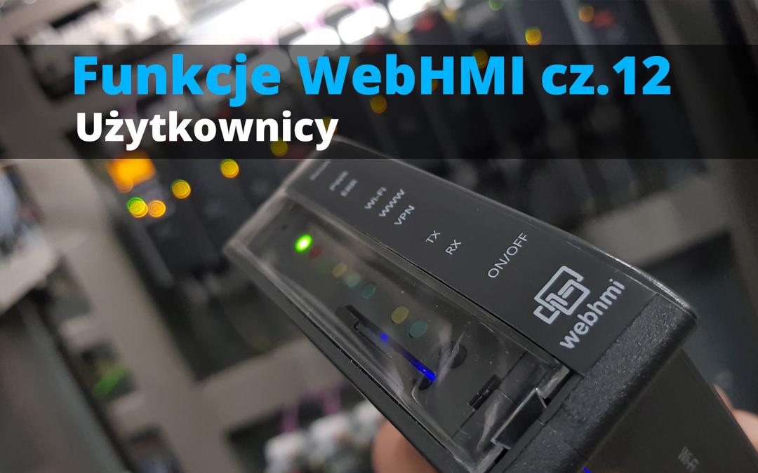 Funkcje WebHMI: Użytkownicy