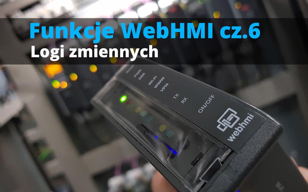 Funkcje WebHMI: Logi zmiennych