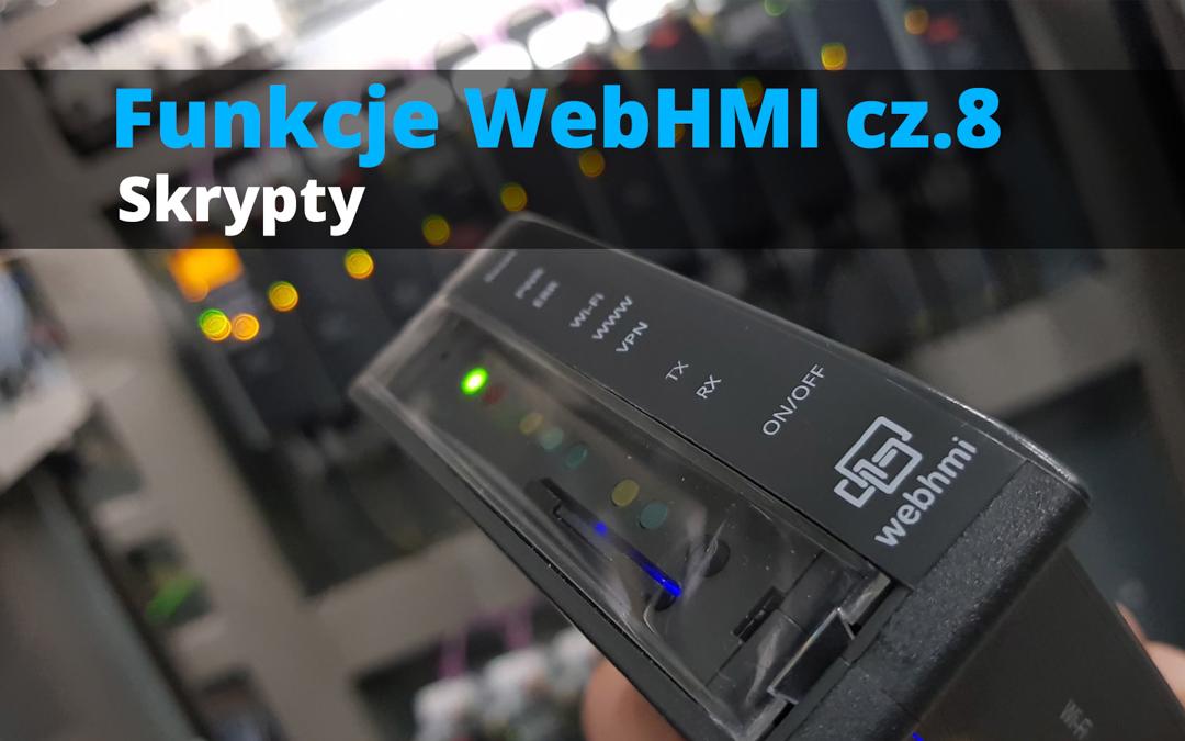 Funkcje WebHMI: Skrypty