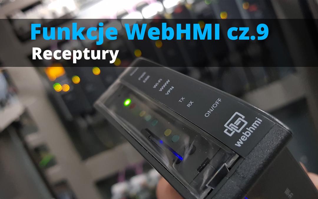 Funkcje WebHMI: Receptury