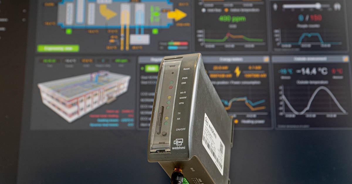SCADA WebHMI – jedno urządzenie do wielu zastosowań